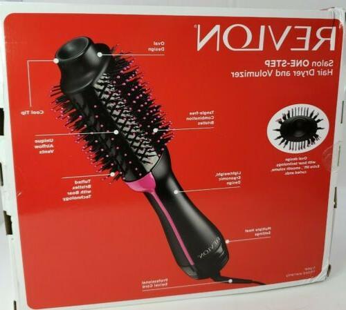REVLON One-Step Volumizer Air Black, Packaging May