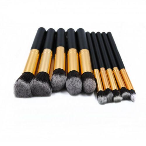 Pro Makeup Blush Eyebrow Powder Brushes Kit Set