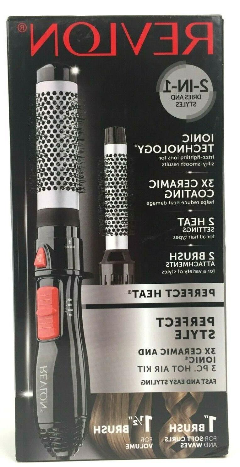 revlon perfect hot air brush styler