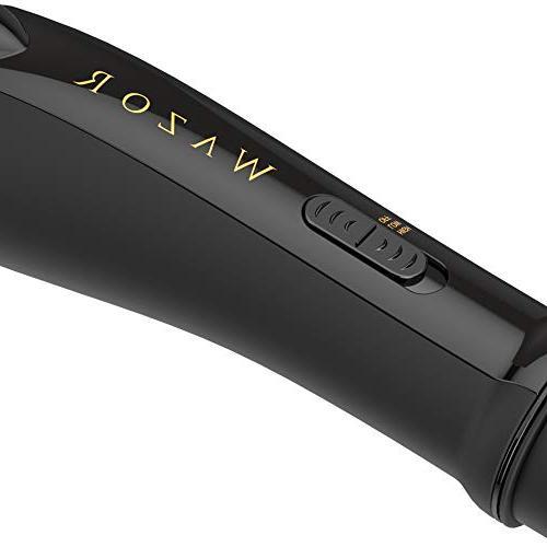 Salon Professional Hot Air Brush & Ceramic Lightweight One 1000 Styling Dryer Brush, 1.25 Inch