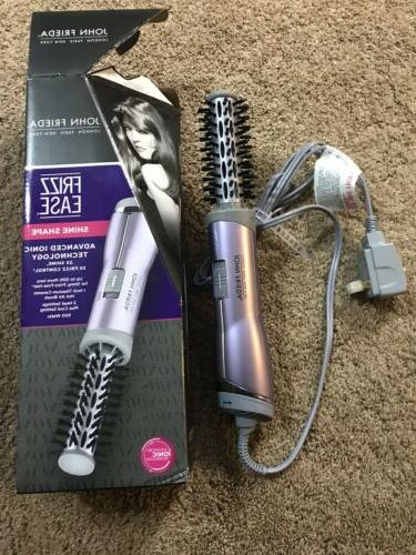 "John Frieda Salon Shine Shape 1"" Ease Ionic Hot Air Brush 4"