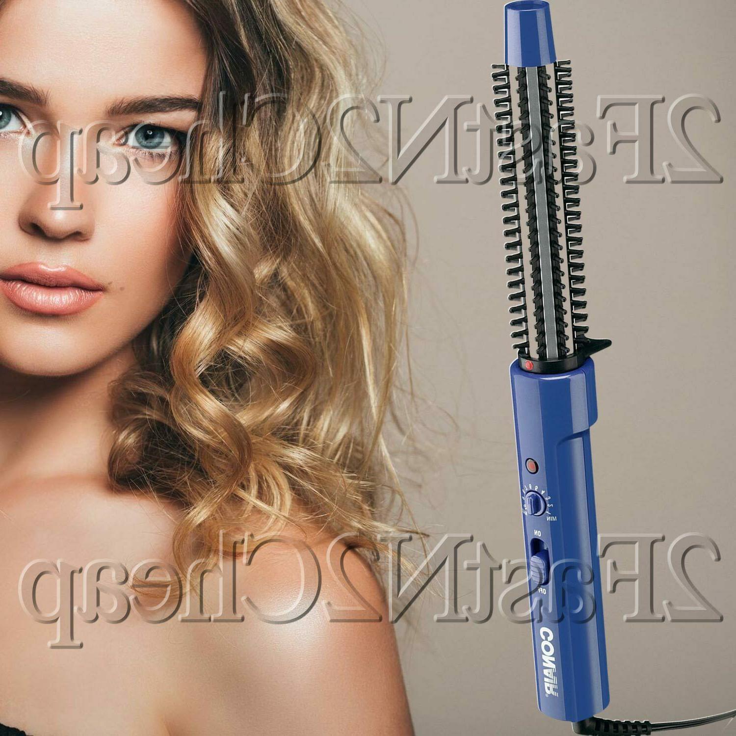 Tangle-Free Professional Hot Air Curl Brush Style Curling Ha