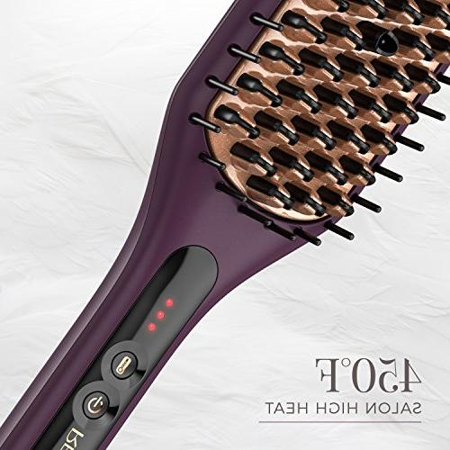 Straightening Brush with Thermaluxe Advanced Thermal Purple, CB7480SA