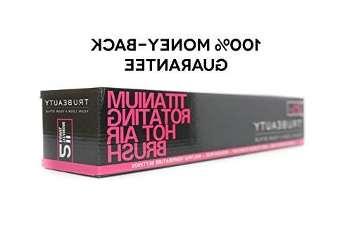 Tru Titanium Hot Brush, Ceramic Coated 2-inch Barrel, - White