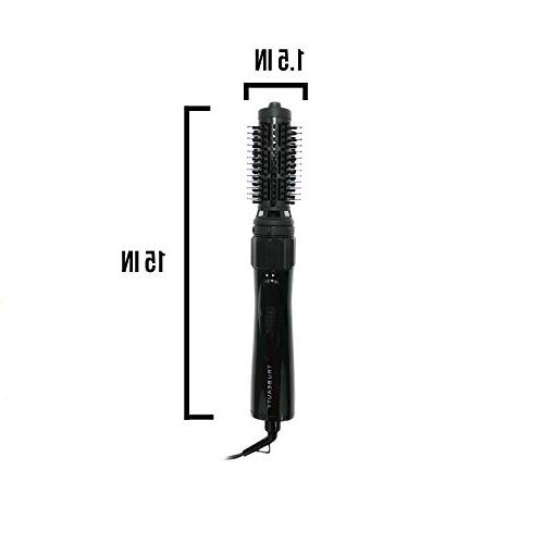 TRU BEAUTY Air Hair Brush and Styler, Titanium