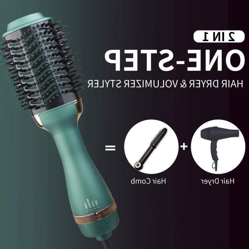 Volumizer with Negative Dryer Brush and Dryer