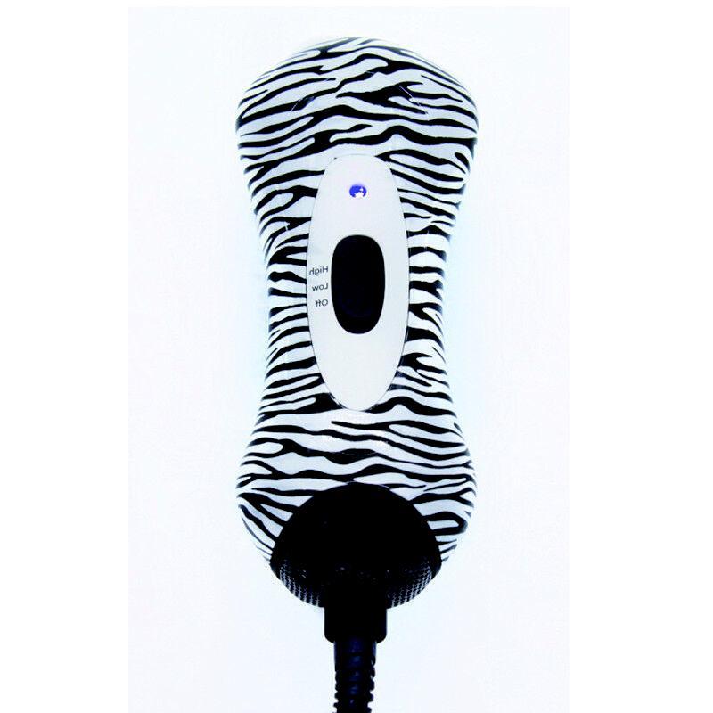 Zebra Stripes Straightener Brushes Ion Hot Air