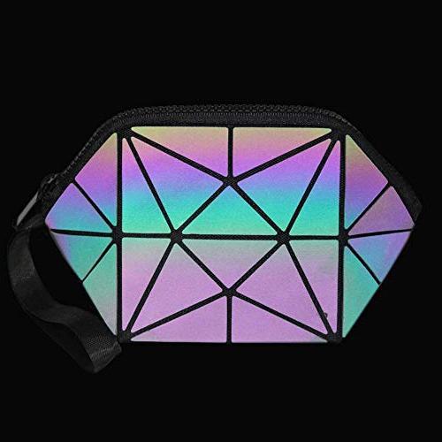 New Bag Geometric Bag Cosmetics Toiletry Case Make Up