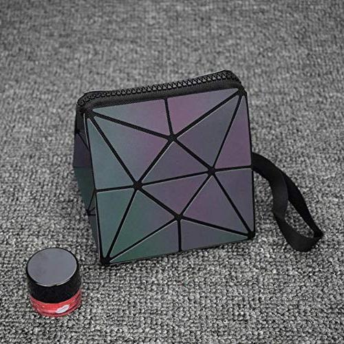 New Zipper Bag Geometric Bag Make