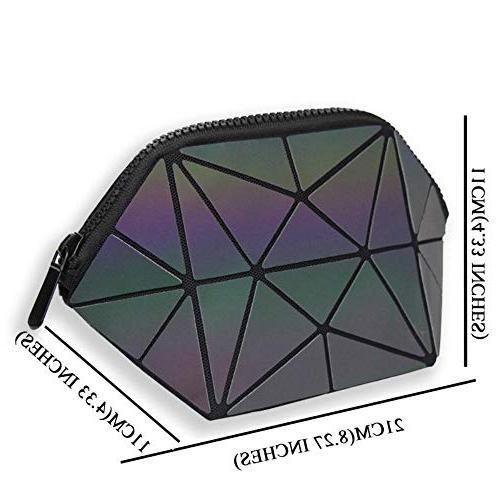 New Women Bag Luminous Bag Cosmetics Toiletry Beauty Case Travel Make Up