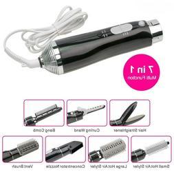 Multifunction Hot Air Brush Styler Electric Hair Blow Dryer