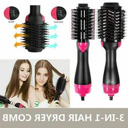 Multifunctional Hot-Air Brushes 3in1 Hair Dryer And Volumize