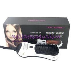 Lescolton Negative Ion Heating Hair Detangle Dryer Styler Ho