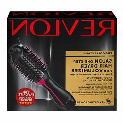 New Revlon Salon OneStep Hair Dryer Volumizer Ion Hot Air Br
