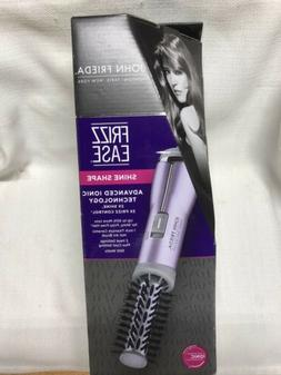"New John Frieda Salon Shine Shape 1"" Barrel Frizz Ease Ionic"