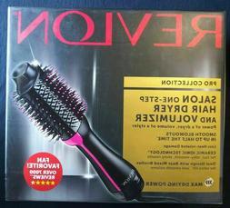 Revlon One-Step Hair Dryer & Volumizer Hot Air Brush Pink RV