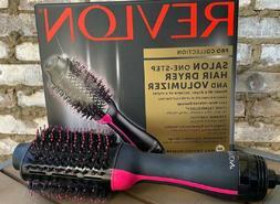 Revlon One-Step Hair Dryer And Volumizer Hot Air Brush,BLACK