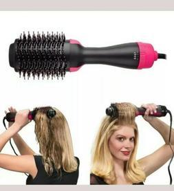 One Step Hair Dryer Brush Hot Air 3in1 Volumizer Curler Stra