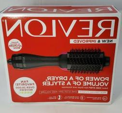 REVLON One-Step Hair Dryer Volumizer Hot Air Brush, Black, P