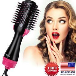 One Step Hair Dryer  Volumizer,Lanic 3 In 1 Hot Air Brush Ne