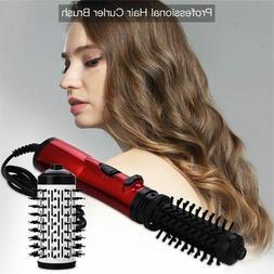 Professional Hair Curler Brush 2in1 Hot Airbrush Straighteni