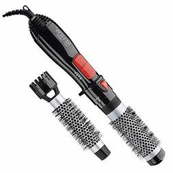 Revlon Ceramic Hot Air Brush Kit with 1 Inch & 1-1/2 Inch Br