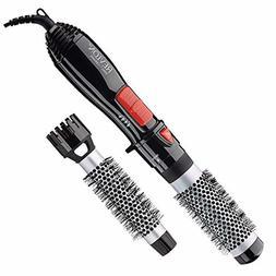 """Revlon Ceramic Hot Air Brush Kit with 1"""" 1-1/2"""" Brush Attach"""