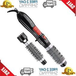 Revlon Hair Dryer Hot Air Styler Round Brush Ceramic Curling