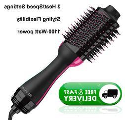 Revlon One-Step Hair Dryer And Volumizer Hot Air Brush, Blac