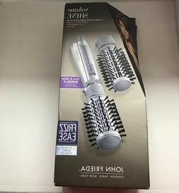 "John Frieda Rotating Hot Air Brush 1 1/2"" & 2 "".FREE SHIPPIN"
